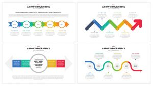 Arrow Infographics template