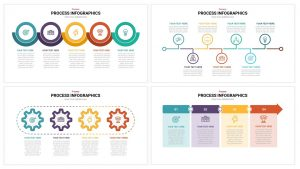 Process Infographics powerpoint teamplate