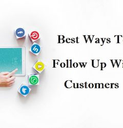best ways to follow up with customers