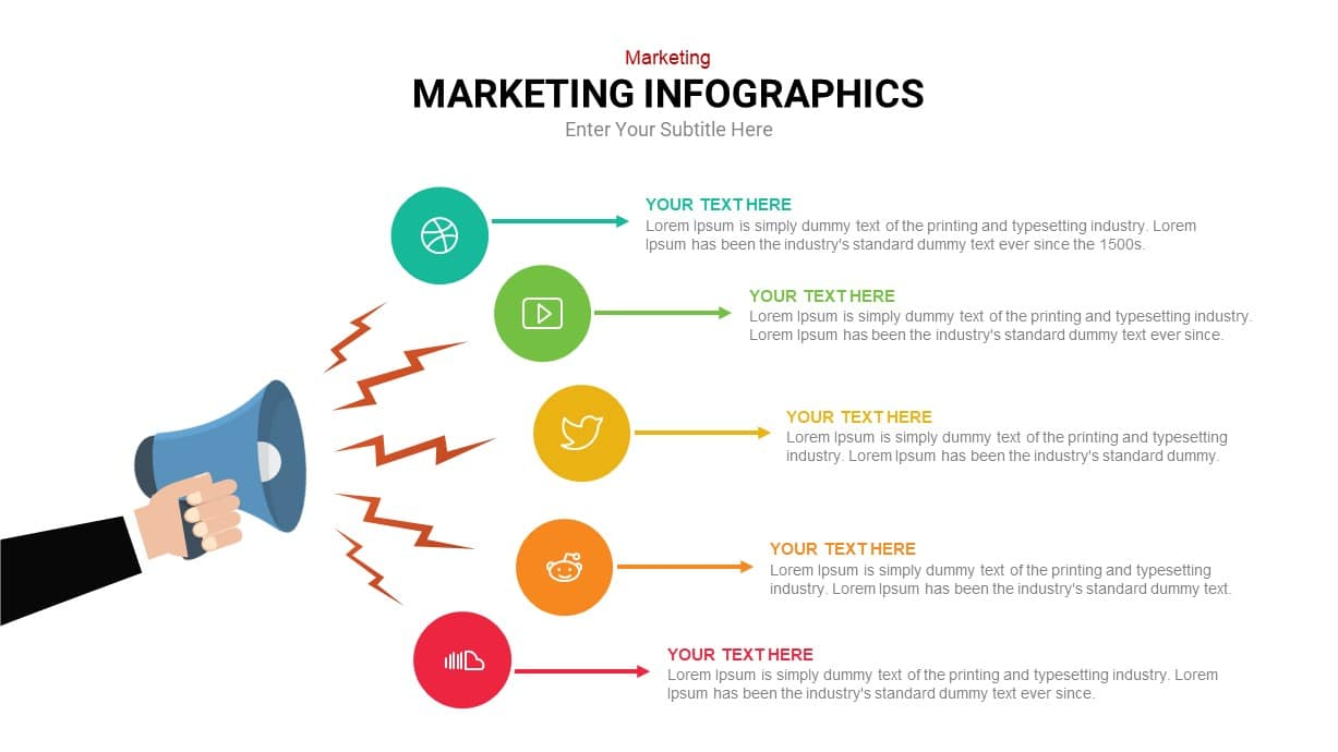 Digital Marketing infographic Template