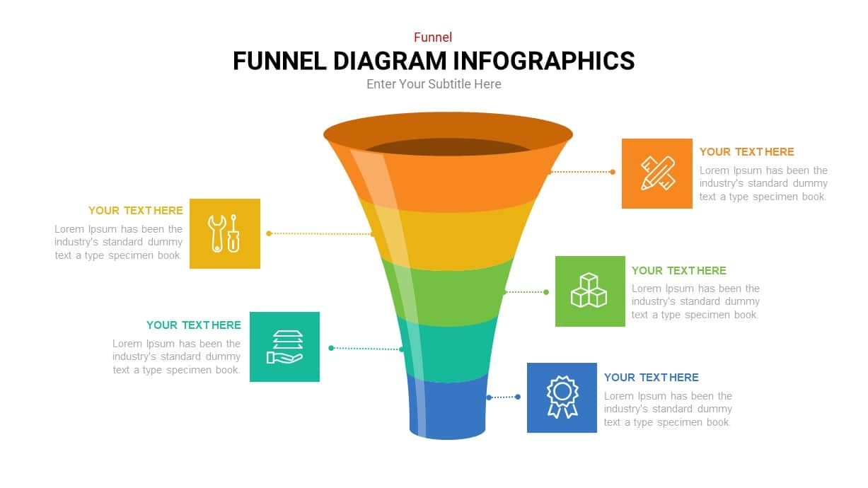 funnel diagram ppt template