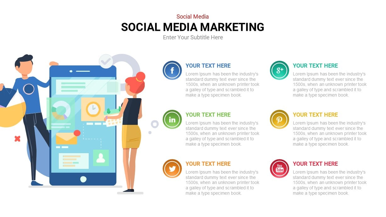 social media infographic template