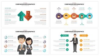 Comparison Infographics powerpoint template