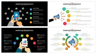 Marketing Infographics powerpoint template